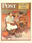 VTG Norman Rockwell Art Print Saturday Evening Post THANKSGIVING ** SEE VARIETY