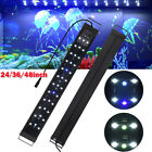 LED Aquarium Light Full Spectrum Freshwater Fish Tank Plant Marine 24 36 48in