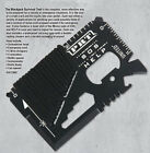 Pocket Sized Tactical Multi Tool Cards for Survival & Utility, Stocking Stuffer!Pocket, Multi Tools - 75236