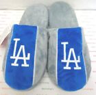 Men's Los Angeles Dodgers Big Logo Stripe Slippers by Forever Collectibles on Ebay