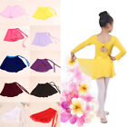 Внешний вид - Girls Kid Ballet Leotard Wrap Scarf Tutu Skirt Dance Skate Costume Dress Chiffon