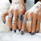 Adjustable Temperature Vintage Mood Ring Changing Color Charm Jewelry Ring Gift