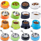 Super Design Dog Bowl Slow Feeder Tilted Raised Dog Bowl Elevated Feeder S-XL