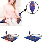 12V Pet Heating Pad Electric Warmer Thermal Heated Mat Dogs Winter Blanket Braw
