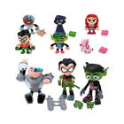 7pcs/Set Teen Titans Go - Beast Boy Raven Mini Action Figure Kids Toy Xmas Gift