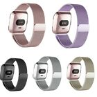 For Fitbit Versa Replacement Milanese Stainless Steel Wristband Wrist Watch Band image
