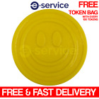 EMBOSSED PLASTIC TOKENS YELLOW SMILE SMILEY FACE SCHOOL PARTY EVENT REWARD