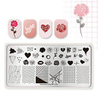 40 Patterns Born Pretty Nail Art Stamping Plates Flower Rose Leaves Templates