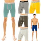 """TINFL"" Men's Breathable Cotton Long Leg Boxer Briefs Underwear Multipacks"