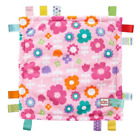 "Bright Starts Little Taggies Plush Mini Lovey Blanket 12"" x 12""  Multiple Colors"