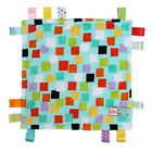 """Bright Starts Little Taggies Plush Security Blanket 12"""" x 12""""  Multiple Patterns"""