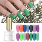 BORN PRETTY Matte Gel Polish Fancy Smooth  Nail Art Soak Off UV Gel 6ml