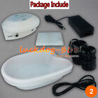 Ion Ionic Detox Foot Bath Spa Machine W Tub Array Cell Cleanse Health with Liner
