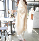 2018 Women Knitted Cardigan Trench Coat Long Casual Sweater Loose Warm Outwear