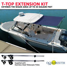 T-Top Extension Kit, Boat Stern Shade Blue or Black