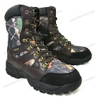 Men's Hunting Boots Waterproof Winter Snow Leather & Nylon Thinsulate- 600 gramsHunting Footwear - 153008