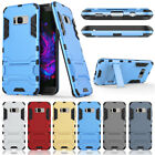 For Samsung Galaxy S7 Edge Thin Tri Layer Protector TPU Armor Bracket Case Cover