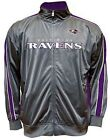 Baltimore Ravens NFL Mens Charcoal Tricot Track Jacket Big & Tall Sizes on eBay