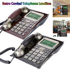 Vintage Antique Retro Caller ID Handset Desk Telephone Wall Mounted Telephone SS