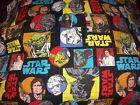 Star Wars Pillow Case Valance Blanket Crib sheet fitted sheet toddler bed FREE