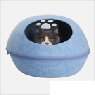 Premium Cat Bed Cave Eco Friendly Felt Beds for Cats and Kittens
