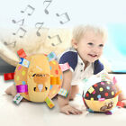 Baby Soft Plush Ball Children Animal Toy With Sound Rattles Infant Toy