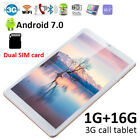 FDC7 10.1'' Tablet PC Android 7.0 quad Core 2/32GB camera Wifi 2 SIM 3G Phablet