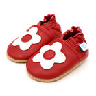 Children's Red Flower Baby Shoes. New. Gift.