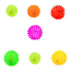NEW - Dog LED Lightup Hedgehog Squeaky Rubber Chewtoy