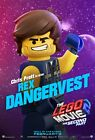 The Lego Movie 2: The Second Part Movie Character Posters | A4 A3 A2 A1 |