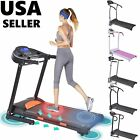 Electric Motorized Treadmill Folding Running Machine Portable Cardio Equipment T