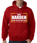 James Harden Houston Rockets Making Houston Great Again Hooded Sweatshirt Hoodie on eBay