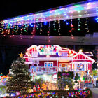 LED Christmas Fairy Icicle Lights Lamps Wedding Party Indoor Outdoor Decor Fast
