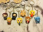 Game of Thrones Dragon inspired rubber keyring keychain gift 702