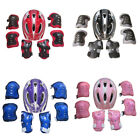 Child's Helmet Pad Set and Knee Elbow and Wrist (Helmet Kits) Bike HoverBoard