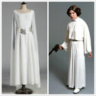 Princess Leia Costume Adult Star Wars Halloween Fancy Dress Costume Cosplay G.10