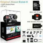 AKASO V50 Pro Native 4K/30fps 20MP WiFi Action Camera LCD Touch Screen + 32G SD