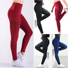 Women Push Up Yoga Leggings Workout High Waist Gym Sports Pants Running Trousers