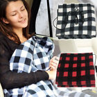 USB Powered Soft Heated Winter Electric Warming Heating Blanket Pad 145X100CM IG image