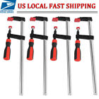 4pcs Quick Grip F woodworking Clamp Clip Wood Carpenter Tool Clamp Heavy Duty