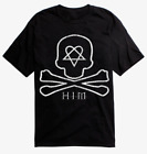 H.I.M. HIM HEARTGRAM Logo Gothic Rock Band T-Shirt NEW Authentic & Official