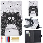 Smart Leather Pattern Stand Folio Case Cover For Amazon Kindle Fire 7/HD8/HD10