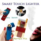 Touch USB Electric Flameless Rechargeable Windproof Torch Cigarette Lighter