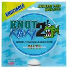 AQUATEKO KNOT 2 KINKY NICKLE TITANIUM LEADER KNOTTABLE WIRE SELECT SIZE