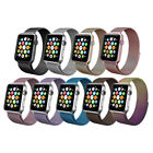 For Apple Watch Magnetic Milanese Loop Band Strap Stainless Steel 38/40/42/44mm image