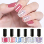 BORN PRETTY 6ml Glitter Peel Off Nail Polish Water-based Nail Art Varnish Design