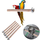 Parrot Pet Wood Hanging Stand Rack Toy Parakeet Branch Perches For Bird Cage NEW