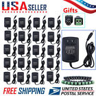 LOT 5/10/20PCS UL Power Supply Adapter AC/DC 12V 2A for Security Camera CCTV MAX