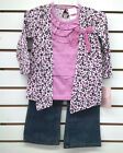 Toddler Girls Nannette 2pc Pink & Cheetah Print Set Size 2T - 4T