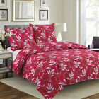 Quilt Bedspread Set 3 Piece - Nikita By Glory Home Design- Assorted.